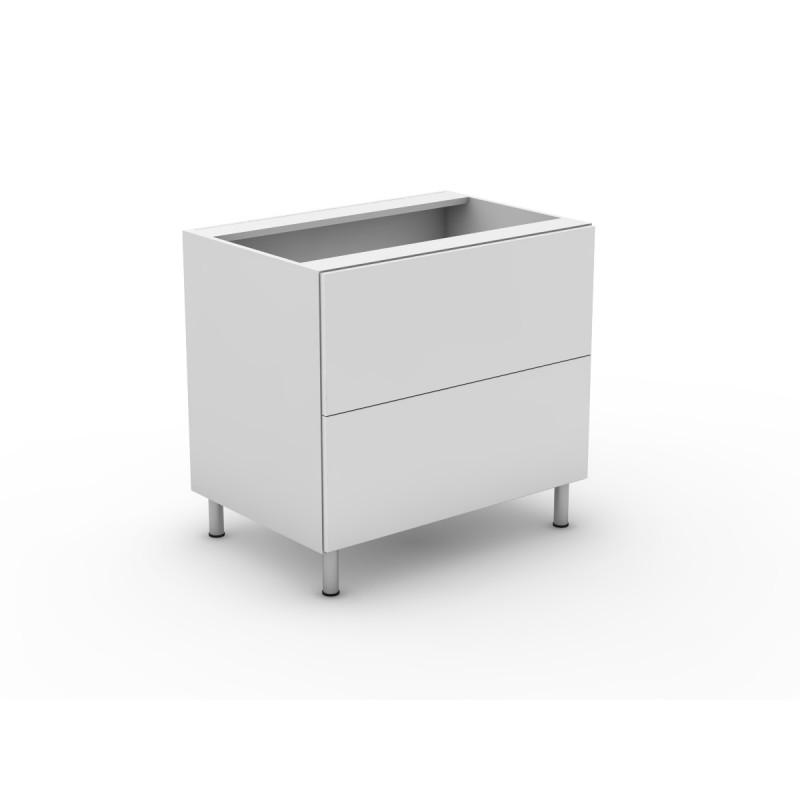 2 Pot Drawers - Laminate - mykitchencabinets